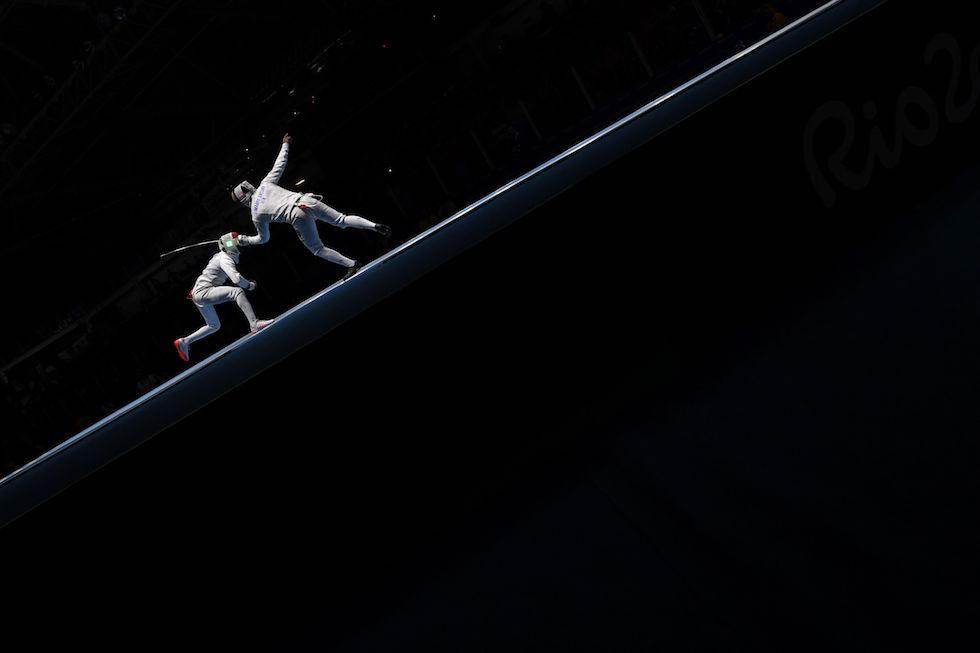 La scherma ai Giochi Olimpici di Rio 2016