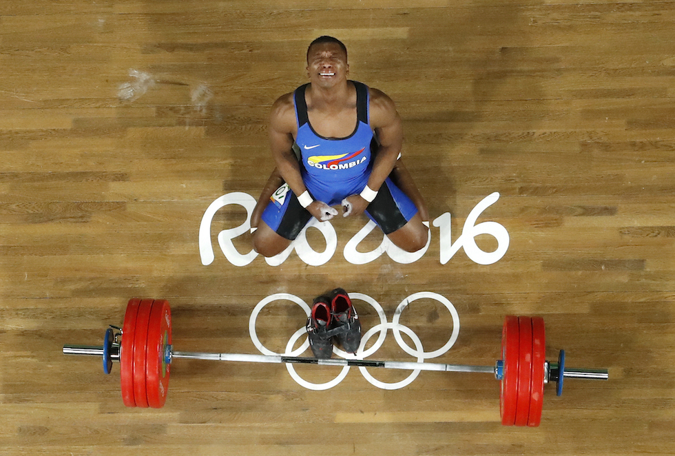 Oscar Albeiro Figueroa Mosquera ai Giochi Olimpici di Rio 2016