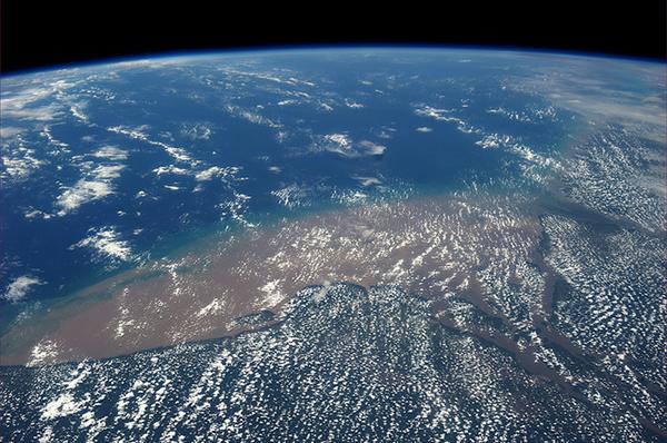 Il Rio delle Amazzoni visto dallo spazio