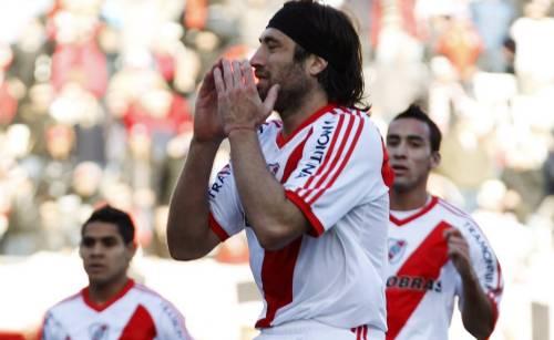 Giocatori del River Plate a fine partita