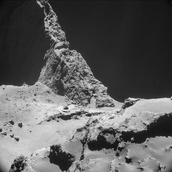 La cometa 67P Churyumov Gerasimenko