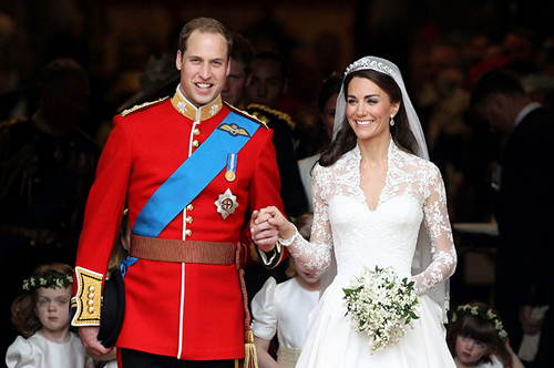 Il matrimonio reale tra William e Kate
