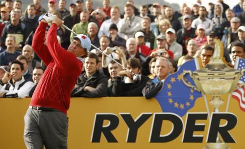 Un momento della Ryder Cup