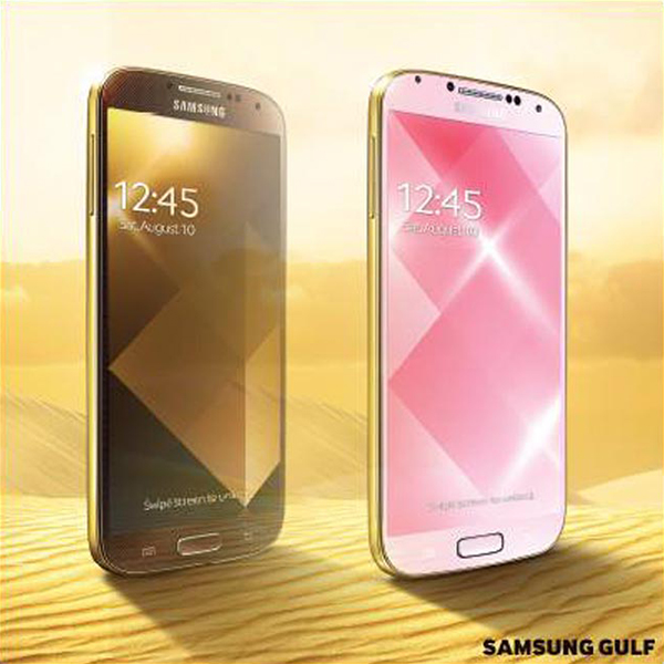 Samsung Galaxy S4 dorato