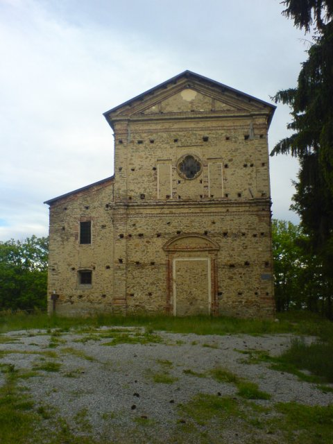 Veduta del santuario di San Colombano