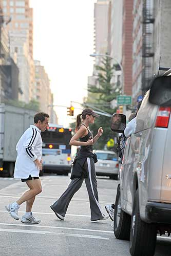 Sarkozy fa jogging a New York