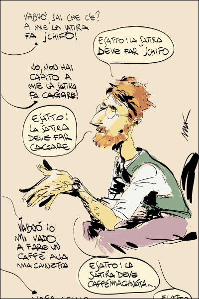 La vignetta di Makkox