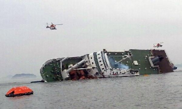 Il naufragio del traghetto Sewol