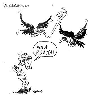 La vignetta di Vauro per Luciana Sgrena