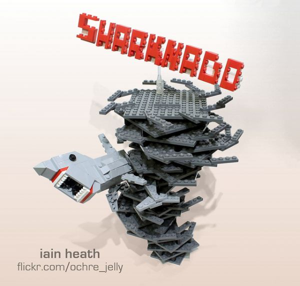 Sharknado di Lego