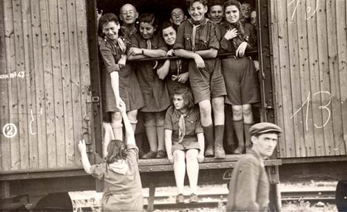 Ebrei in un campo austriaco