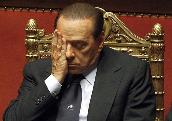 Berlusconi nel dicembre 2010
