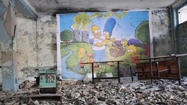 I Simpson a Chernobyl