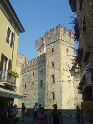 Particolare del castello (Sirmione)