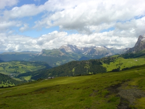 L'Alpe di Siusi e la Val Gardena