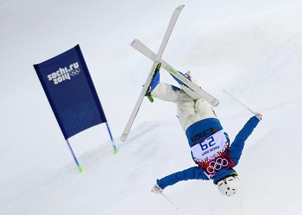 Jung-Hwa Seo nel freeskiing a Sochi 2014
