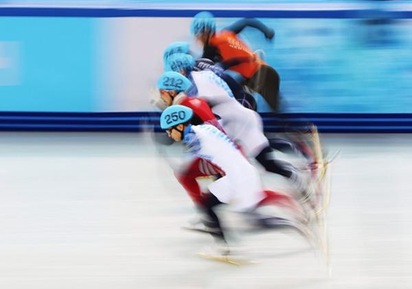 Pattinaggio di velocità a Sochi 2014