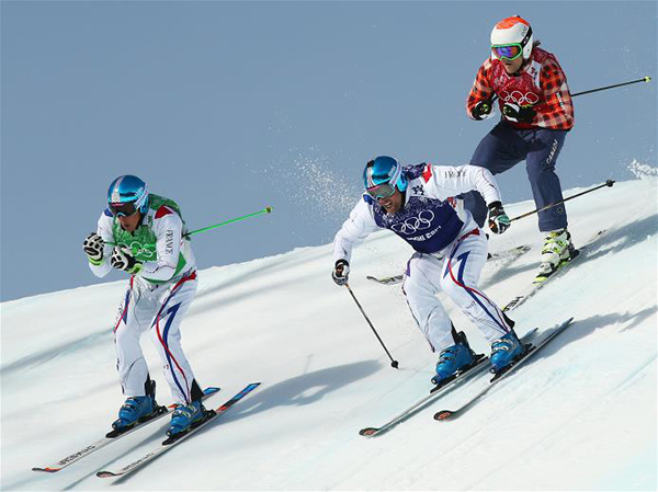 La ski cross a Sochi 2014