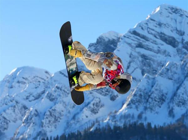 Sage Kotsenburg nello snowboarding a Sochi 2014
