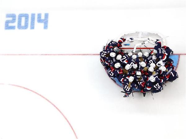 La squadra USA di hockey a Sochi 2014