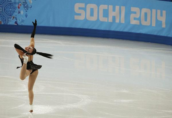 Kaetlyin Osmond nel pattinaggio a Sochi 2014