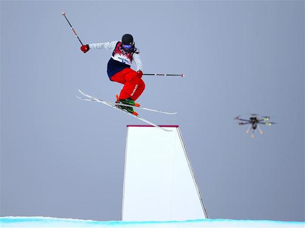 Un drone riprende un evento a Sochi 2014