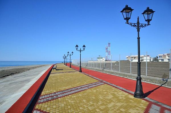 Il villaggio olimpico di Sochi deserto
