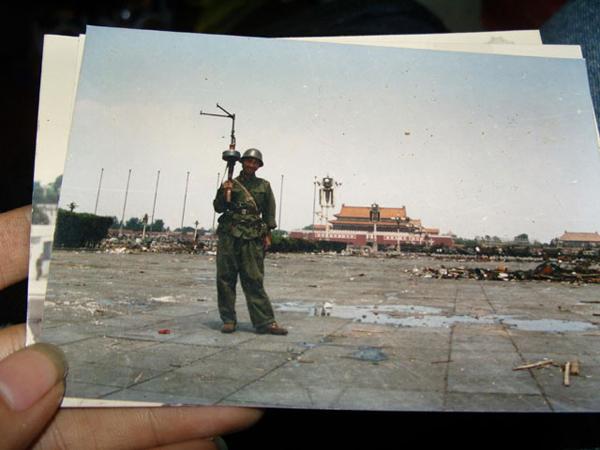 I soldati a Piazza Tienanmen nel 1989