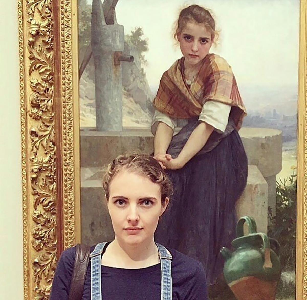 Sosia al museo