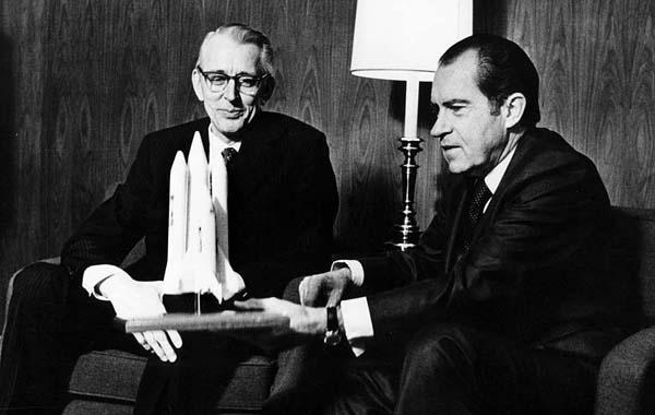 Il prototipo di Space Shuttle e Nixon