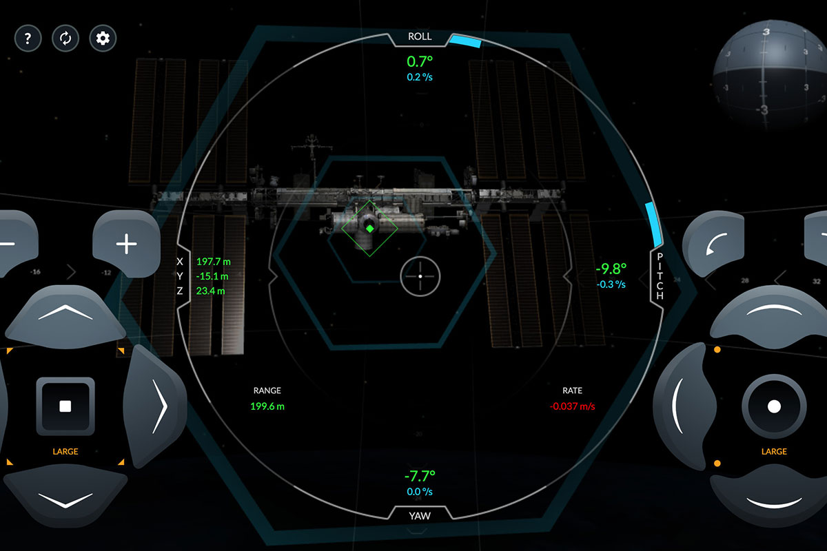 Il simulatore della Crew Dragon di SpaceX