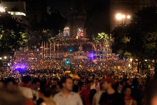 La Spagna festeggia il suo primo campionato del mondo