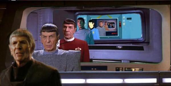 Spock attraverso il tempo