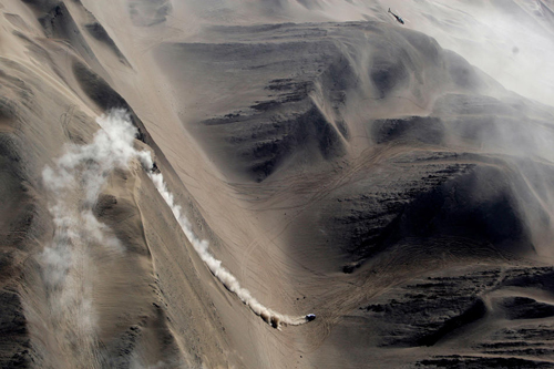 Argentina-Chile Dakar Rally 2010