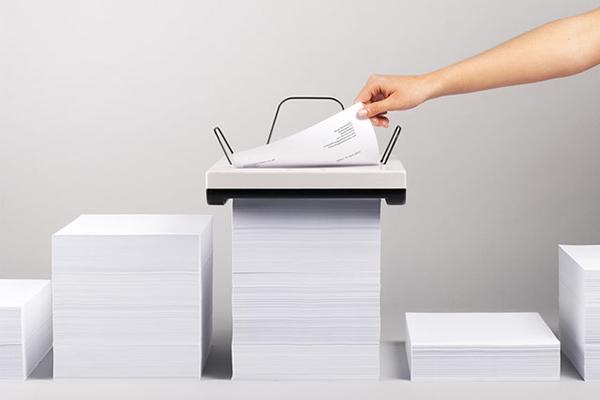 La stampante Stack