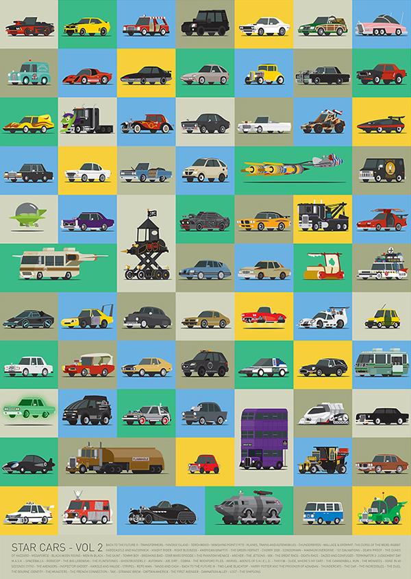 Le auto più famose del piccolo e grande schermo