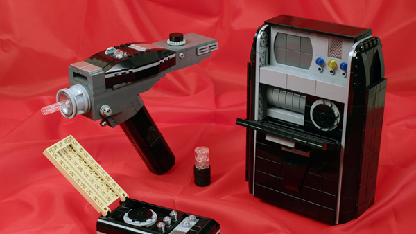 Tricorder, phaser, comunicatore di Star Trek in Lego