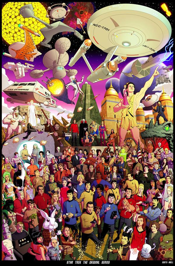Star Trek in un poster