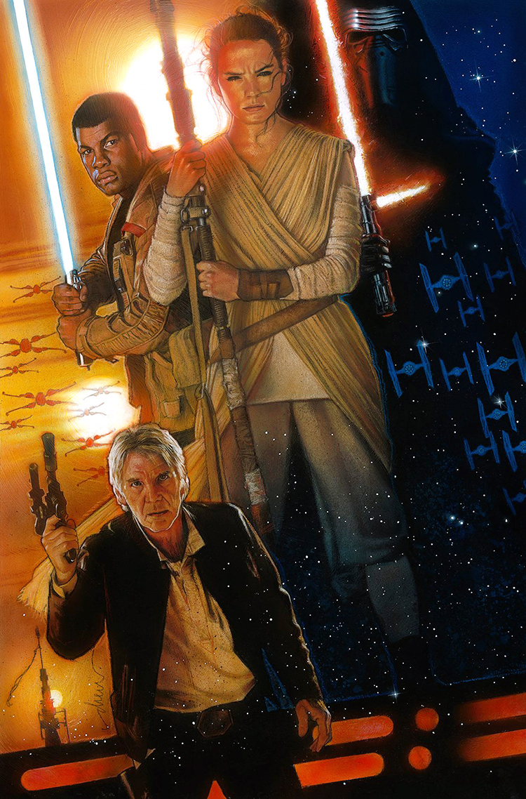 Poster di Star Wars The Force Awakens