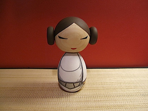 Star Wars Kokeshi doll