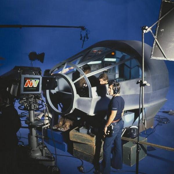 La cabina di pilotaggio del Millenium Falcon