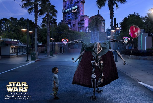 Star Wars Weekends 2012 poster