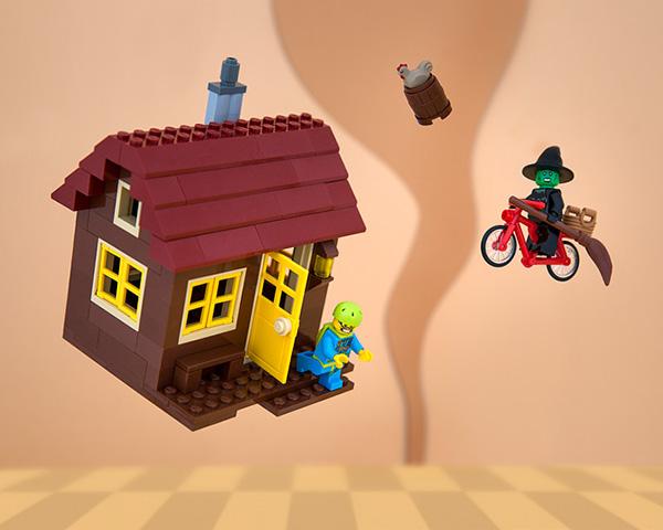 Il Kansas rappresentato con i Lego