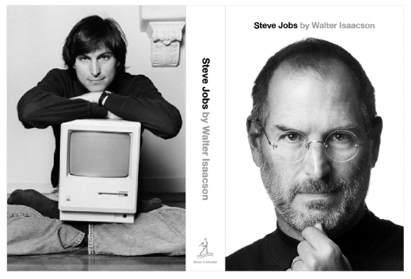 Copertina di Steve Jobs: A biography