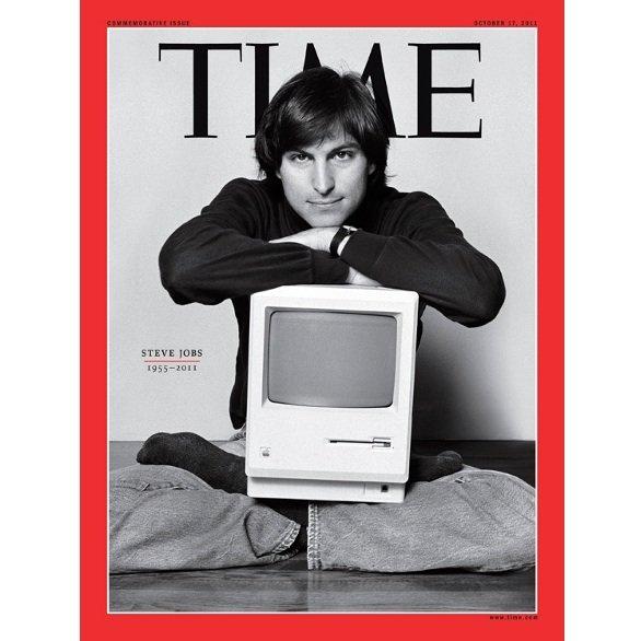 La copertina speciale di Time dedicata a Steve Jobs