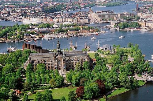 Il Djurgarden di Stoccolma
