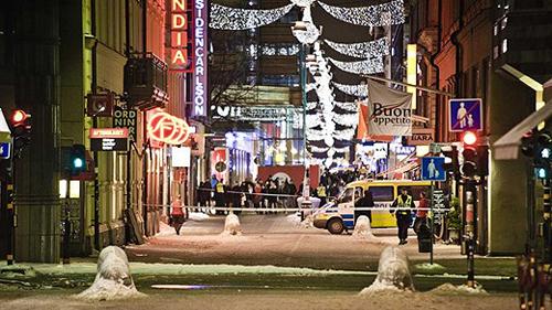 Il quartiere di Drottniggatan scena degli attentati