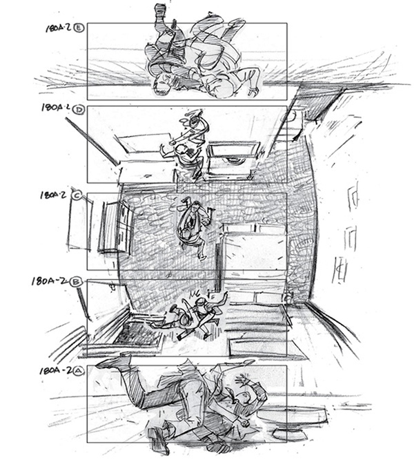 Lo storyboard di 