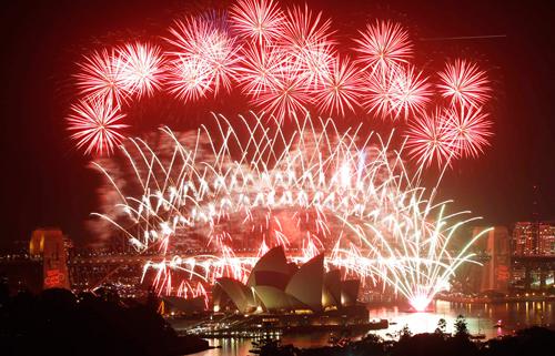 I fuochi d'artificio a Sydney