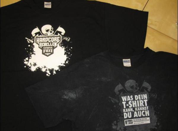 La maglietta che invita i neo nazisti a lasciar perdere